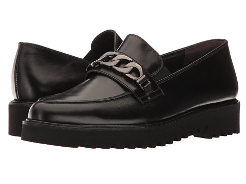 Paul Green Maria Loafer - Black Leather