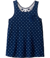 Splendid Littles - Indigo w/ Lace Back Insert Tank Top (Big Kids)