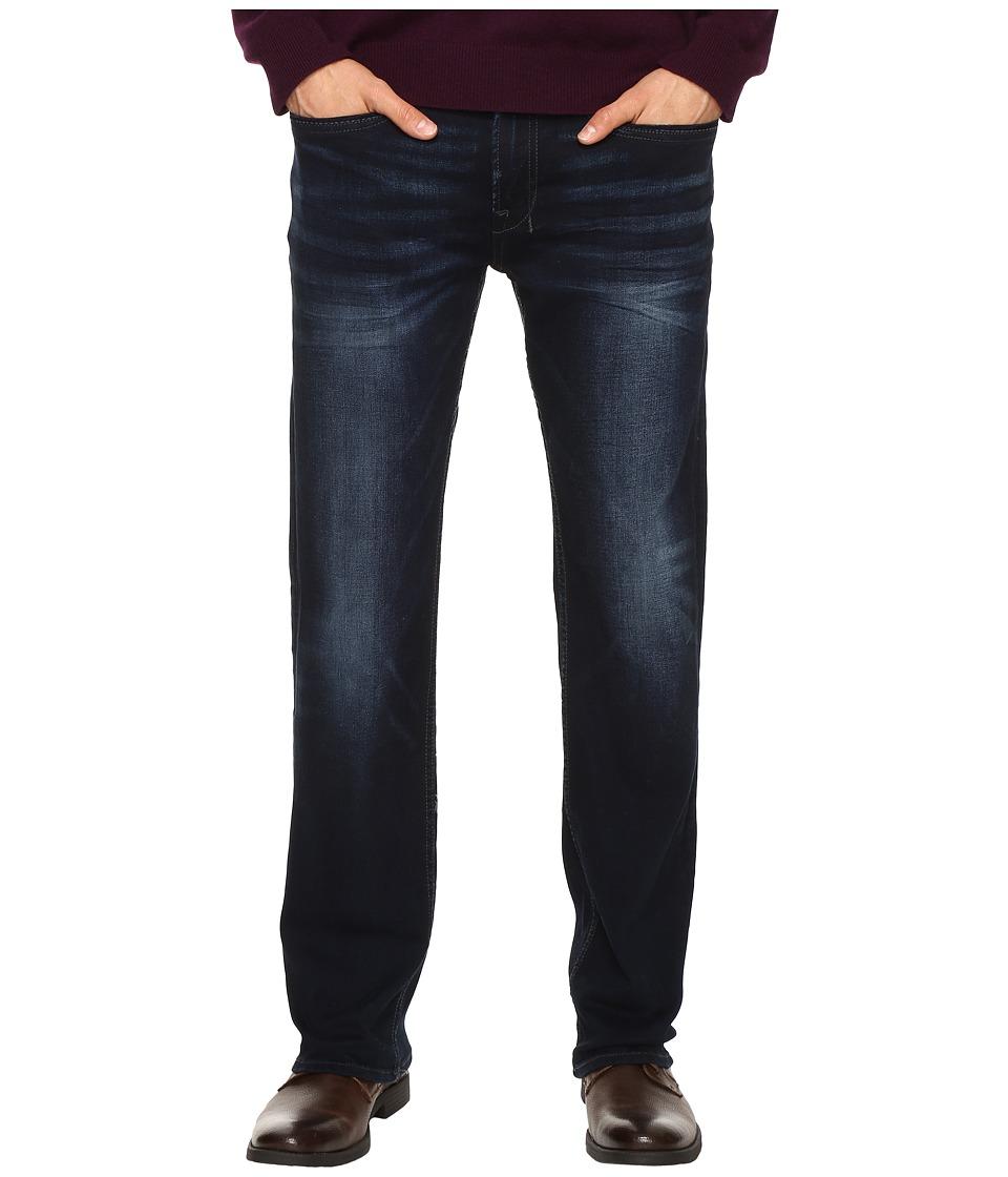 Buffalo David Bitton - Six Straight Leg Jeans in Authentic and Deep Indigo