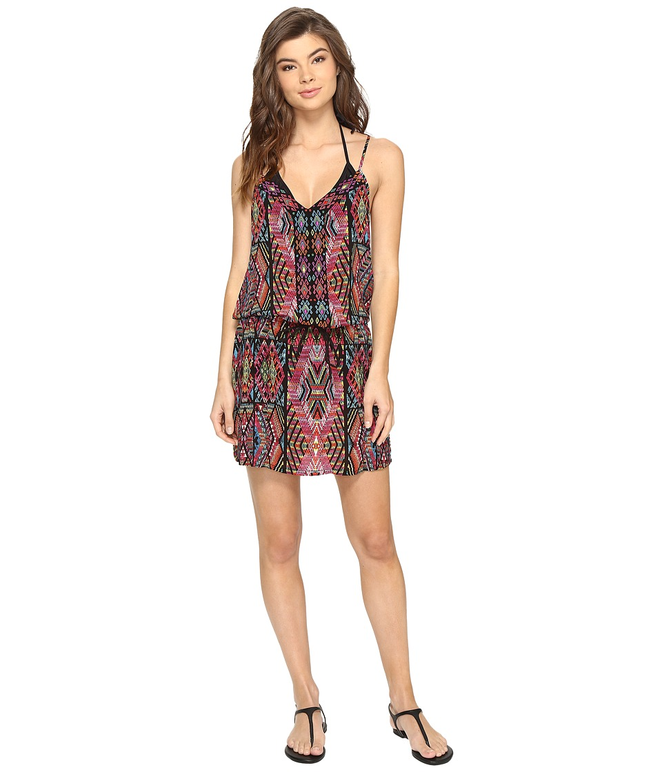 Nanette Lepore - Mayan Mosaic Short Dress Cover-Up