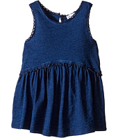 Splendid Littles - Indigo w/ Lace Trim Swing Top (Toddler)