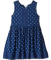 Splendid Littles - Indigo w/ Lace Trim Dress (Toddler)