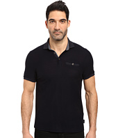 Ted Baker - Dino Short Sleeve Textured Jersey Polo