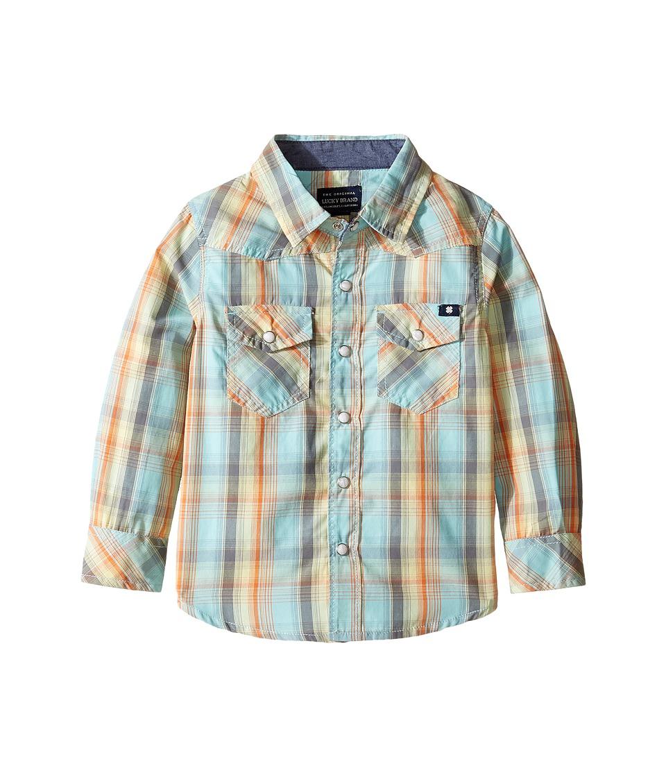 Lucky Brand Kids - Plaid Woven Western Shirt