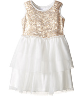 Kardashian Kids - Sequin Bodice Dress with Mesh Layer Skirt (Infant)