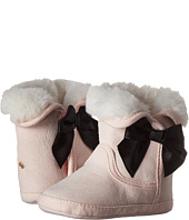 Kate Spade New York Kids - Faux Fur Booties w/ Bow (Infant/Toddler)