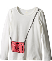 Kate Spade New York Kids - Trompe L'oeil Tee (Little Kids/Big Kids)