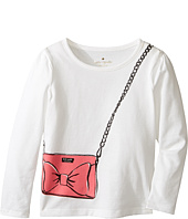 Kate Spade New York Kids - Trompe L'oeil Tee (Toddler/Little Kids)