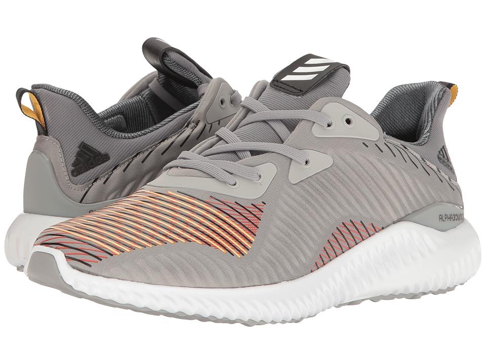 adidas Running Alphabounce EM (Medium Grey Heather Solid Grey/Utility Black/Black) Men