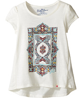 Lucky Brand Kids - Short Sleeve Tee w/ Princess Seams and Screen Print (Little Kids)