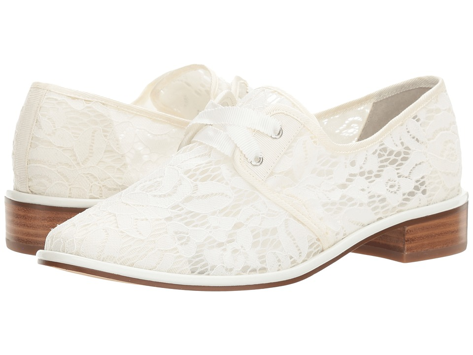 Vintage Inspired Wedding Dresses Adrianna Papell - Paisley White Womens Lace up casual Shoes $119.00 AT vintagedancer.com