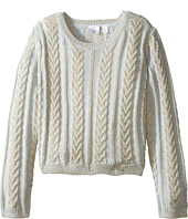 Kardashian Kids - Chunky Cable Knit Sweater (Toddler/Little Kids)