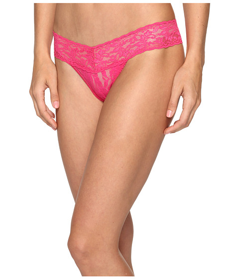 Hanky Panky Petite Signature Lace Low Rise Thong - Tickled Pink