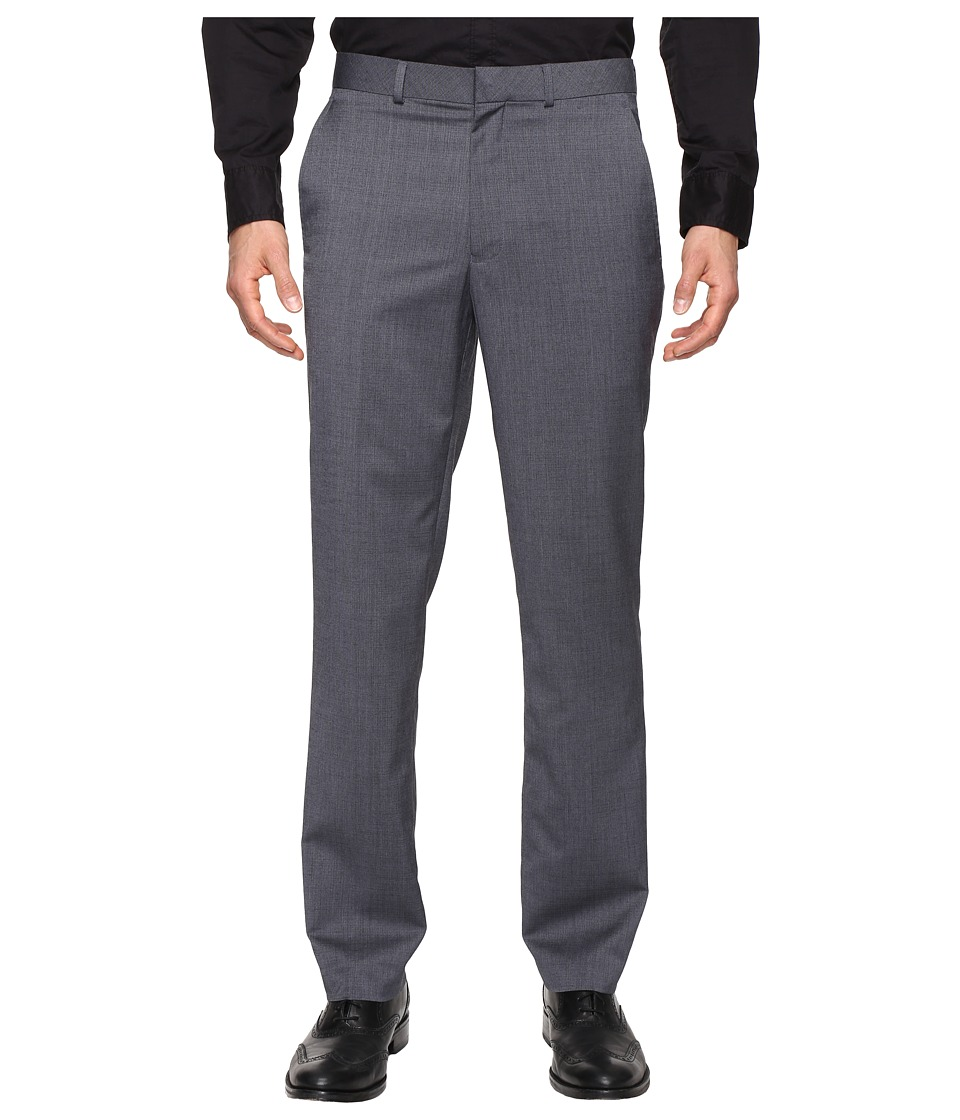 Kenneth Cole Reaction - Techni-Cole Stretch Pants (Medium Grey) Mens Dress Pants