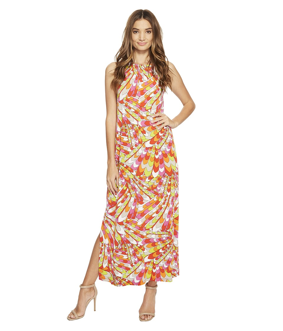 Christin Michaels - Bors Printed Maxi Dress