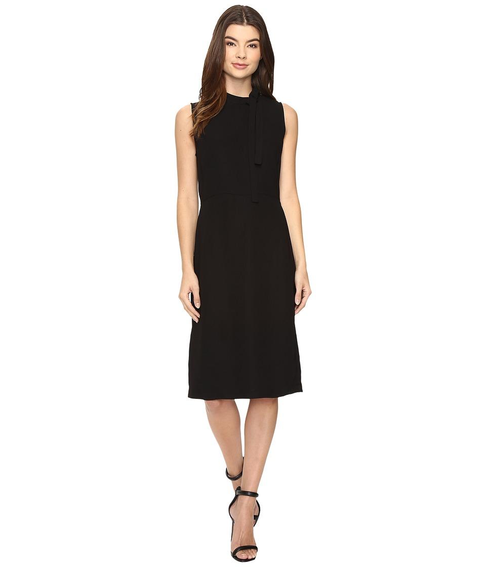 Christin Michaels Holland Sleeveless Dress (Black) Women