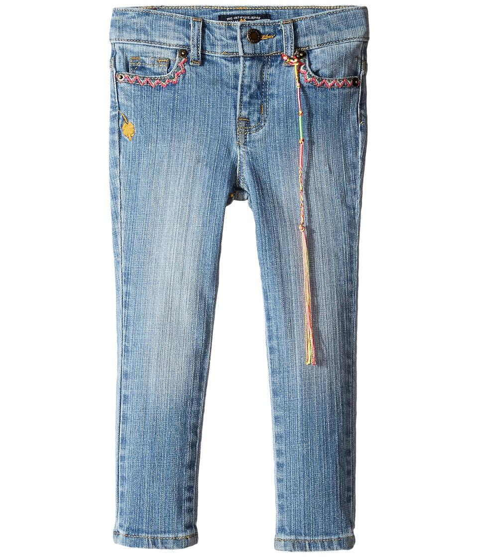 Lucky Brand Kids - Zoe Jeans w/ Embroidery