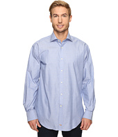 Thomas Dean & Co. - Long Sleeve Jacquard Check Sport Shirt