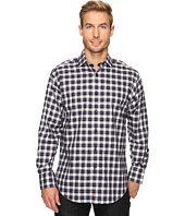 Thomas Dean & Co. - Long Sleeve Classic Plaid Sport Shirt