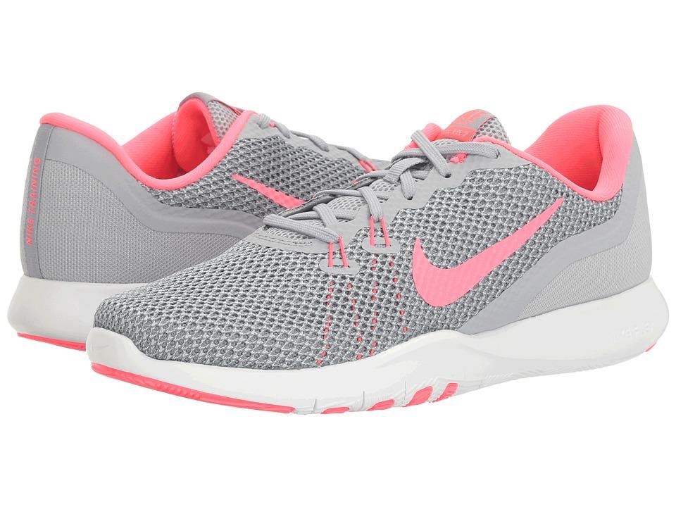 Nike Flex TR 7 (Wolf Grey/Racer Pink/Stealth) Women