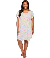 LAUREN Ralph Lauren - Plus Size Short Sleeve Sleep Tee
