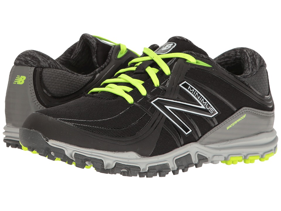 New Balance Golf NBGW1005 Minimus WP (Black/Lime) Women