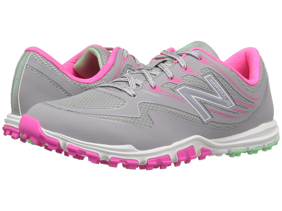 New Balance Golf NBGW1006 Minimus Sport (Grey/Pink) Women