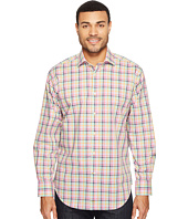 Thomas Dean & Co. - Long Sleeve Plaid Sport Shirt
