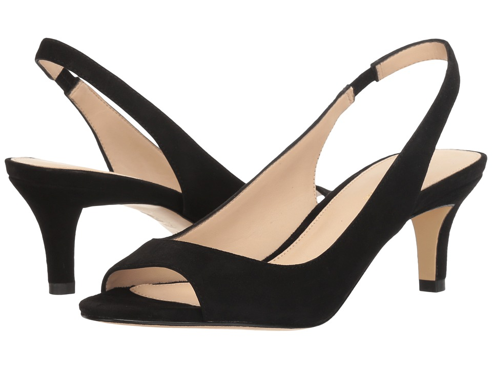 Pelle Moda - Belini (Black Suede) High Heels