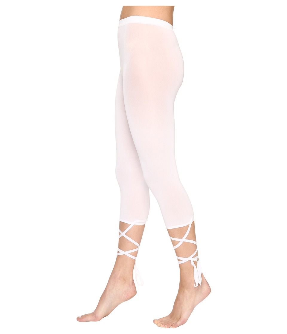 Wolford Lace-Up Capris (White) Women