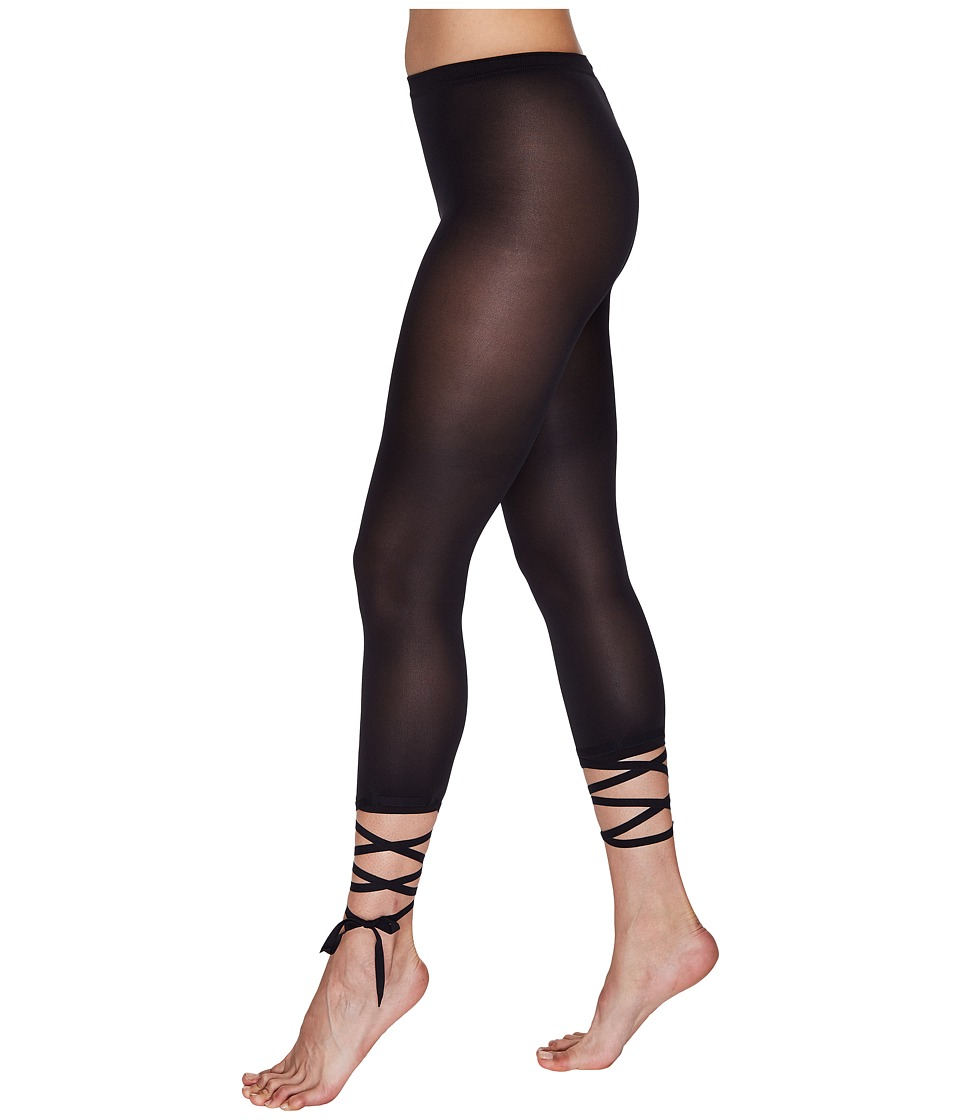 Wolford Lace-Up Capris (Black) Women