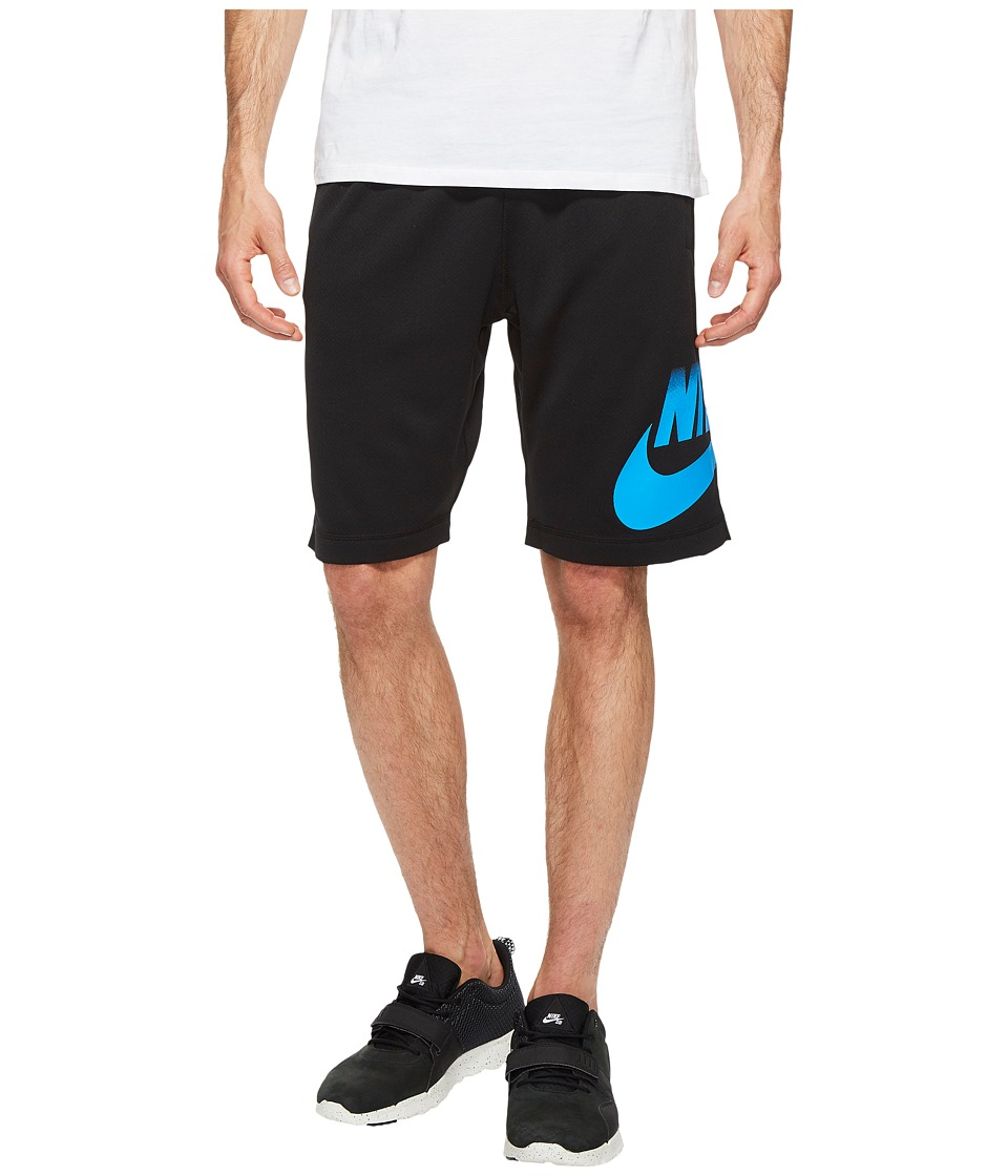 Nike SB SB Dry Shorts Sunday Fade (Black/Light Photo Blue) Men