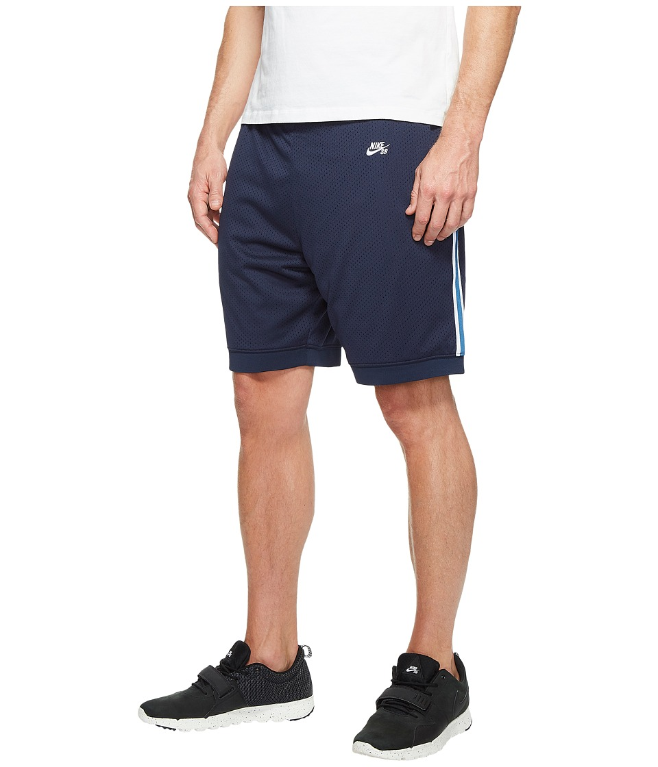 Nike SB SB Dry Shorts Court (Obsidian/White) Men