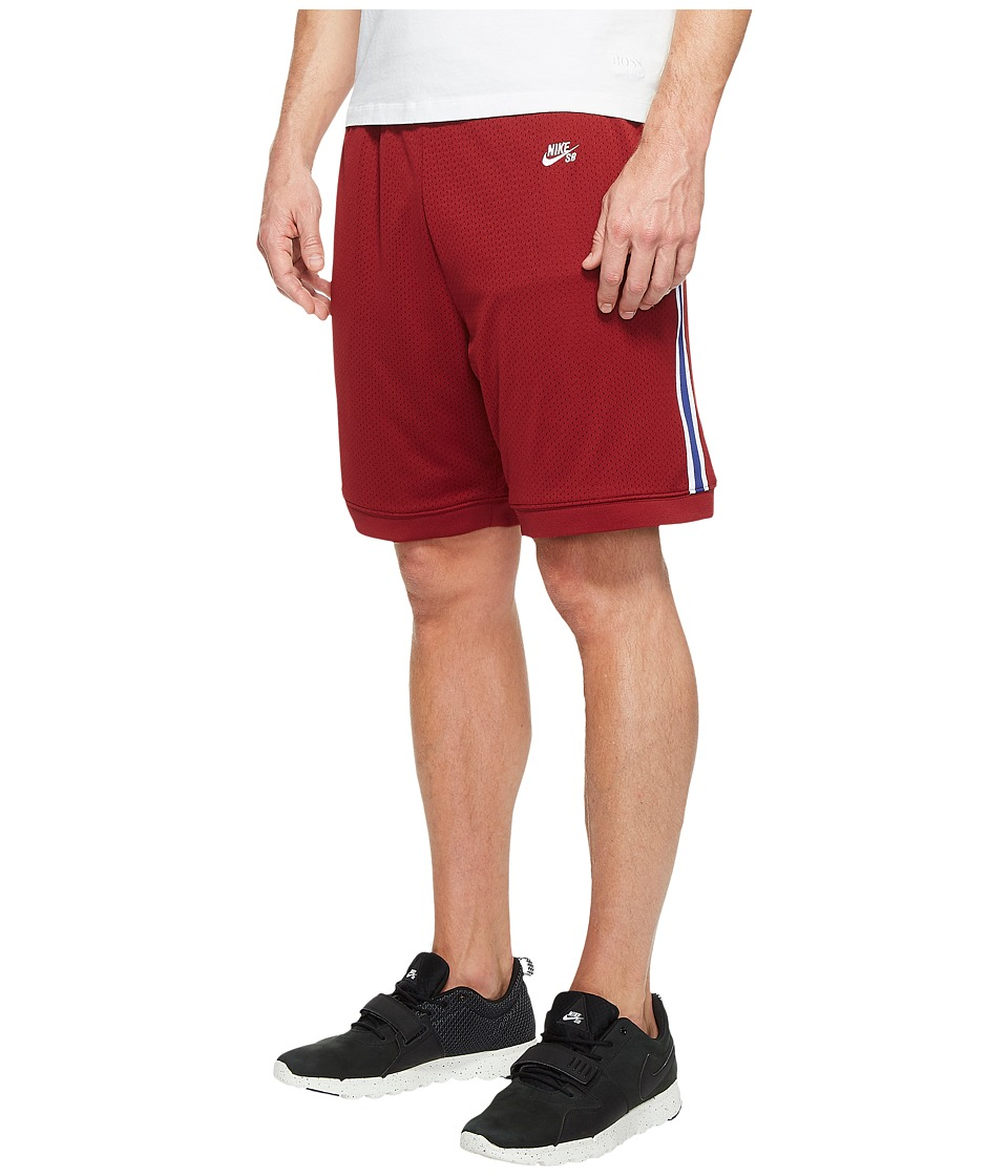 Nike SB SB Dry Shorts Court (Team Red/White) Men