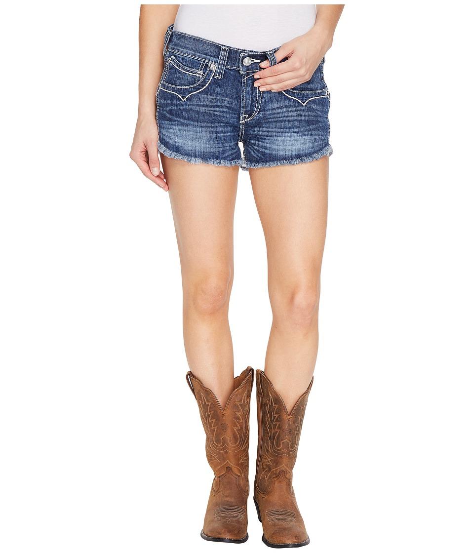 Ariat - Boyfriend Shorts Wheat Stitch Ella