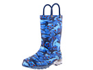 Western Chief Kids Shark Chase Lighted Rain Boot (Toddler/Little Kid)