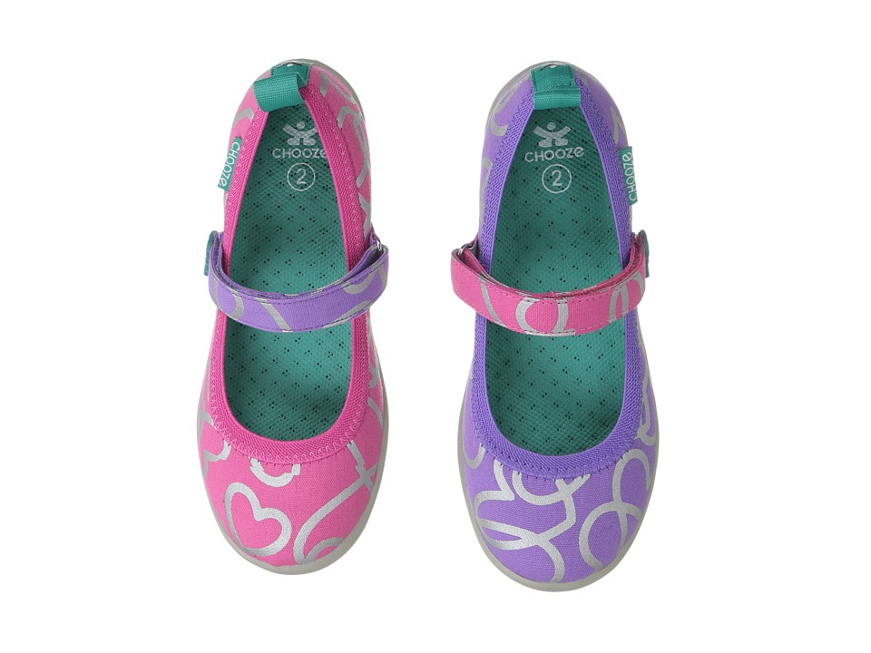 CHOOZE - Jump (Toddler/Little Kid) (Scatter) Girl's Shoes