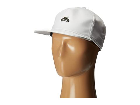 Nike SB SB Dri-Fit Hat - White/Wolf Grey/Black/Dark Antique Black