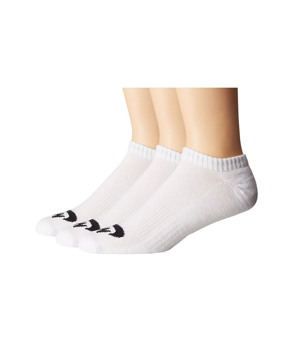 Nike - SB 3-Pack No Show Socks (White/Black) Mens No Show Socks Shoes