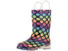 Western Chief Kids Darling Dot Lighted Rain Boot (Toddler/Little Kid)