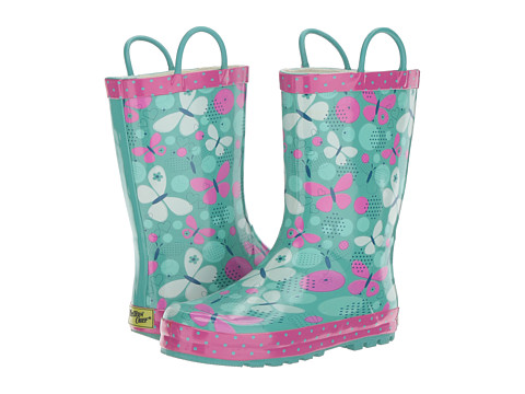 Western Chief Kids Butterfly Burst (Toddler/Little Kid) - Aqua
