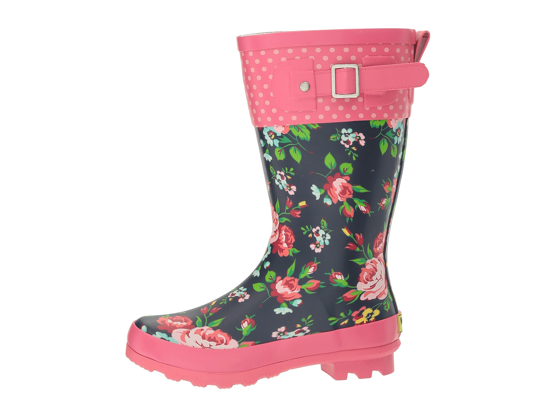 Western Chief Kids Classic Tall Rosie Rain Boot (Little Kid/Big ...