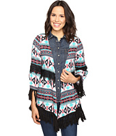 Rock and Roll Cowgirl - 3/4 Sleeve Kimono B4-8386