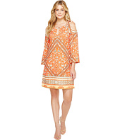 Hale Bob - Sun Kissed Microfiber Jersey Cold Shoulder Dress