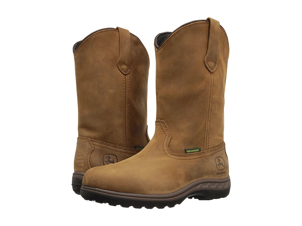 John Deere WCT Waterproof 10 Pull-On (Tan)