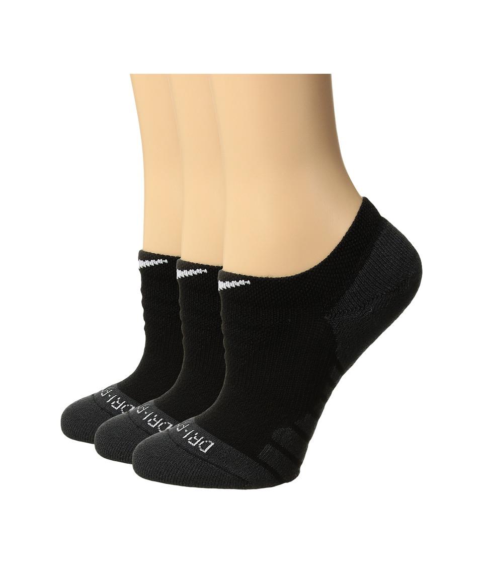 Nike Dry Cushion No Show Tab Training Socks 3-Pair Pack (...