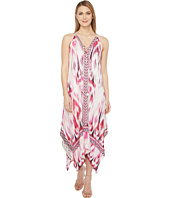 Hale Bob - Sun Streaked Rayon Stretch Satin Maxi Dress