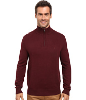 Nautica - 9 Gauge 1/4 Zip Sweater