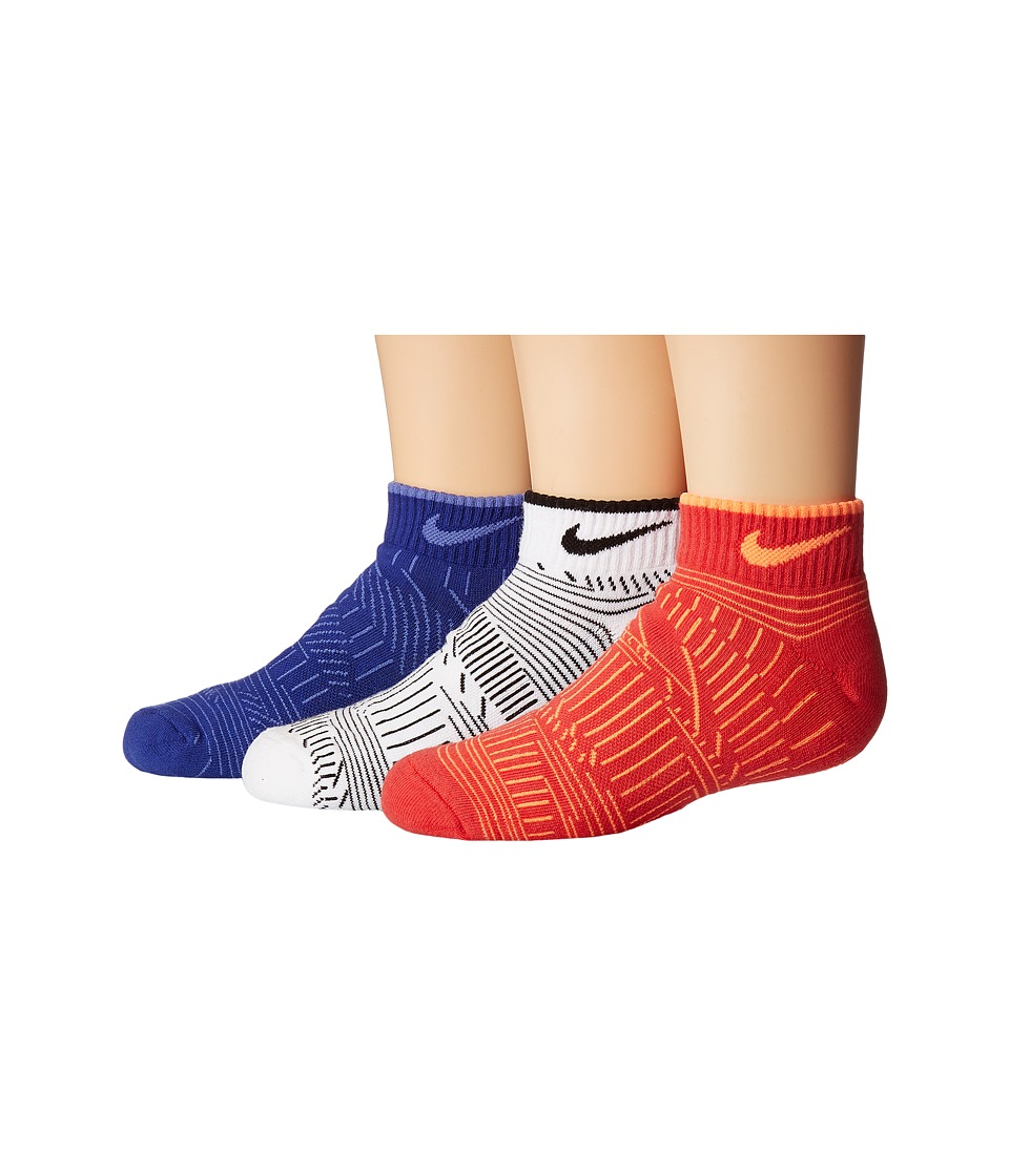 Nike Kids - 3-Pack Graphic Cotton Cush