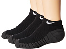 Nike Kids Dry Cushion No Show Socks 3-Pair Pack (Toddler/Little Kid/Big Kid)